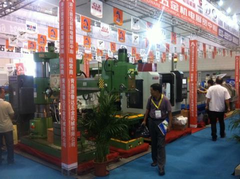 西菱股份成功参加第16届青岛国际机床模具展览会